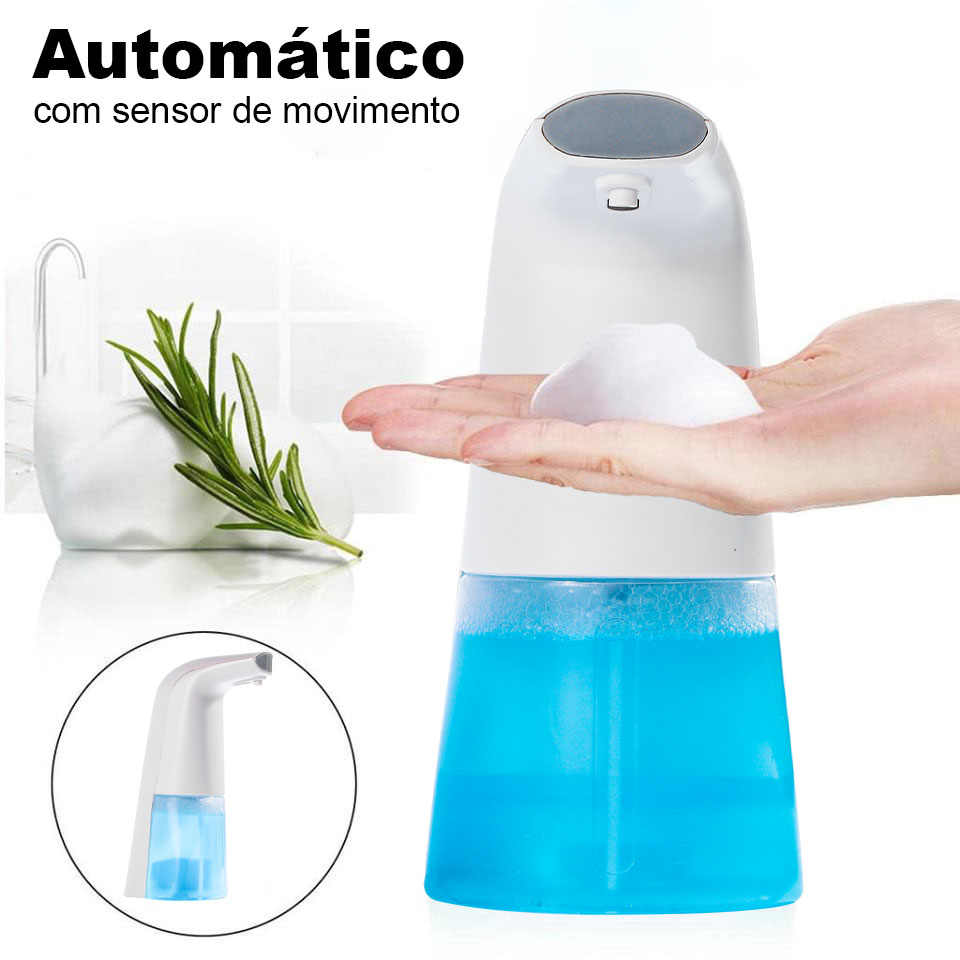 Dispenser Com Sensor Automático