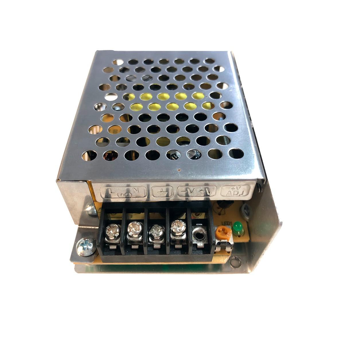Fonte de Alimentação Colmeia 12V 5A Pequena + Motor Bomba Diafragma 12v 20 psi
