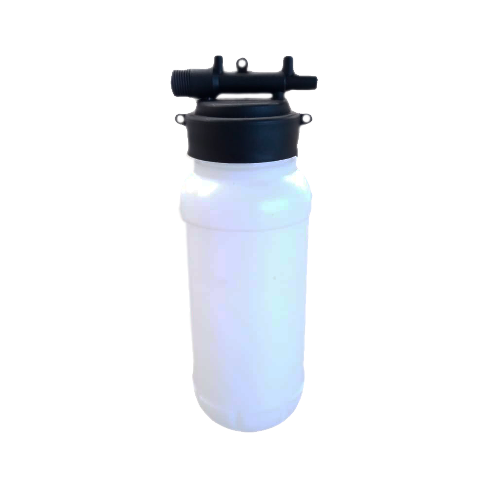 Garrafa de 1 Litro + Rosca Distribuidora Aplicador de Herbicida Puro