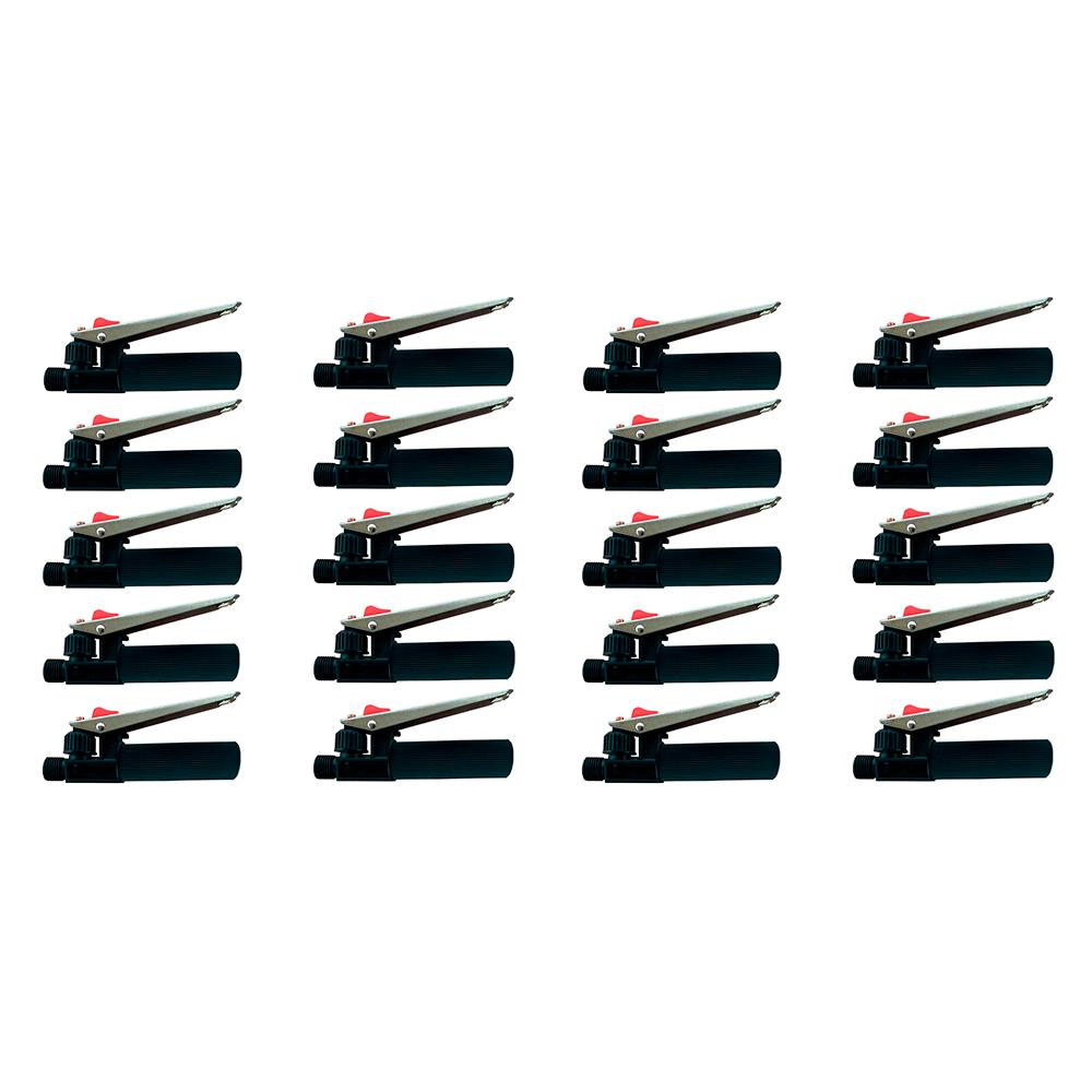 Kit 20 Gatilhos Registro Completo