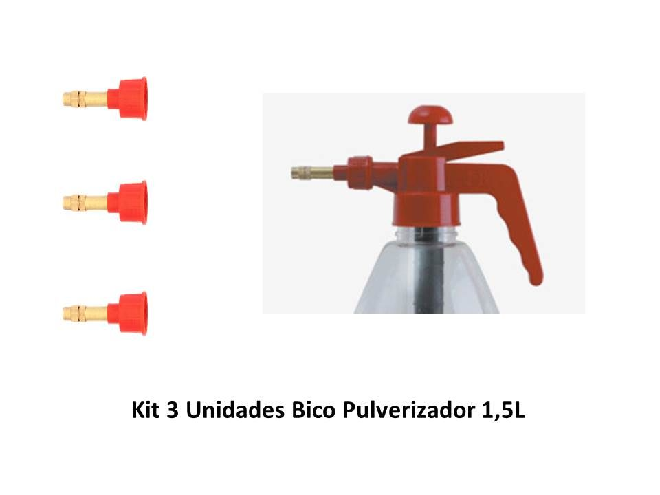Kit 3 Bicos - 1,5L SuperAgri