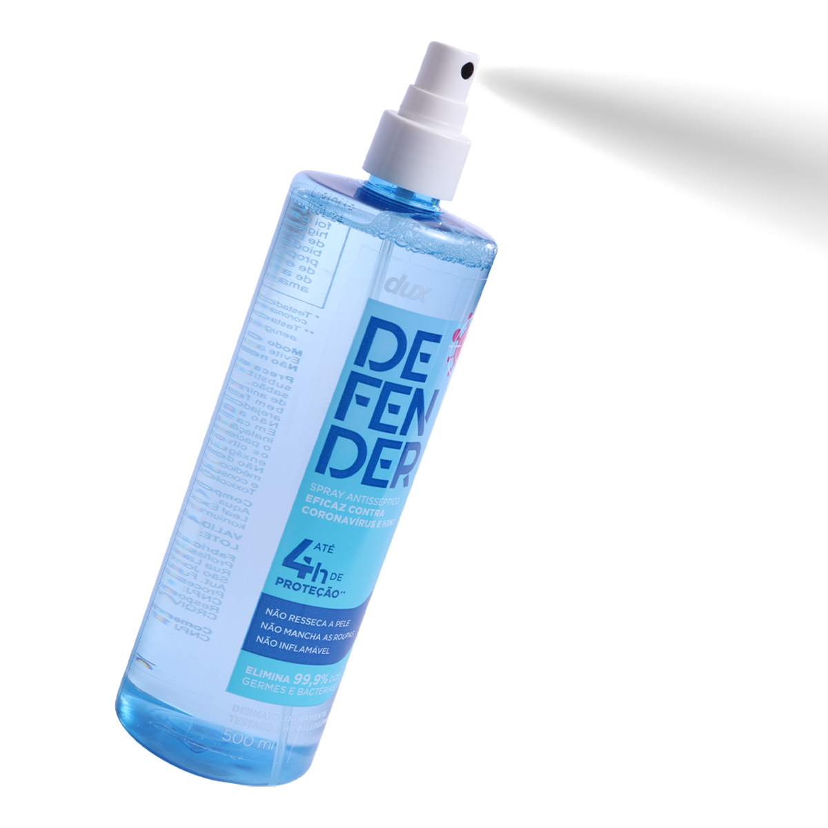 Kit 3 Unidades Dux Defender Spray 500ml