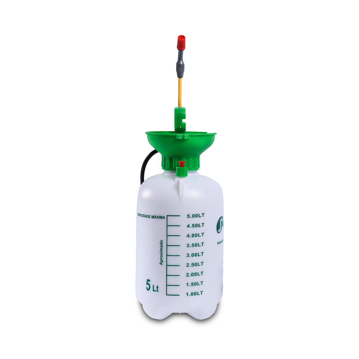 Kit 3 Unidades Pulverizador Manual SAPPA5L de Pressão Acumulada 5 Litros