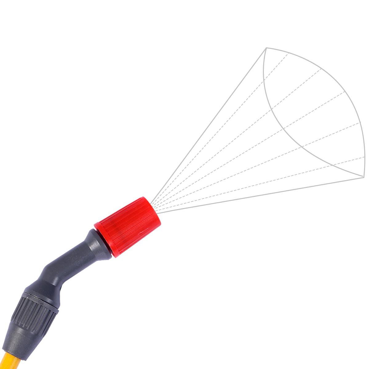 Kit 3 Unidades Pulverizador Manual SAPPA8L de Pressão Acumulada 8 Litros