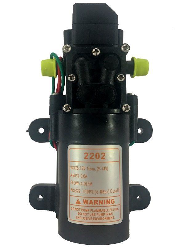 Kit Barra Pulverizadora Elétrica