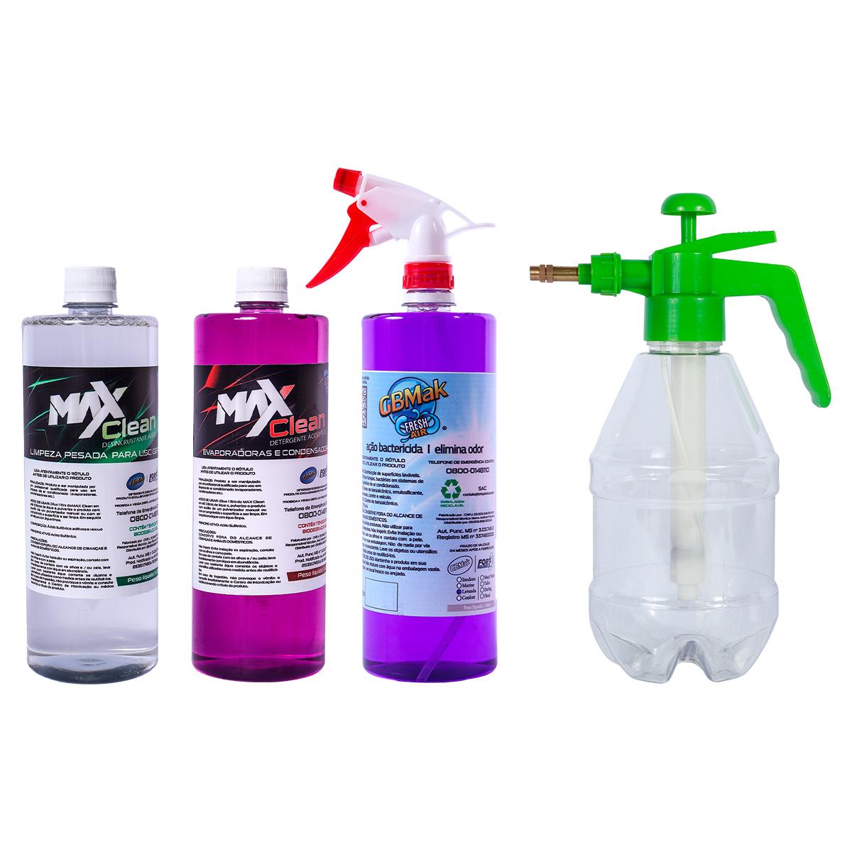 Kit Completo Pulverizador 1,5 Litros + Produtos de Limpeza Prontos Para uso