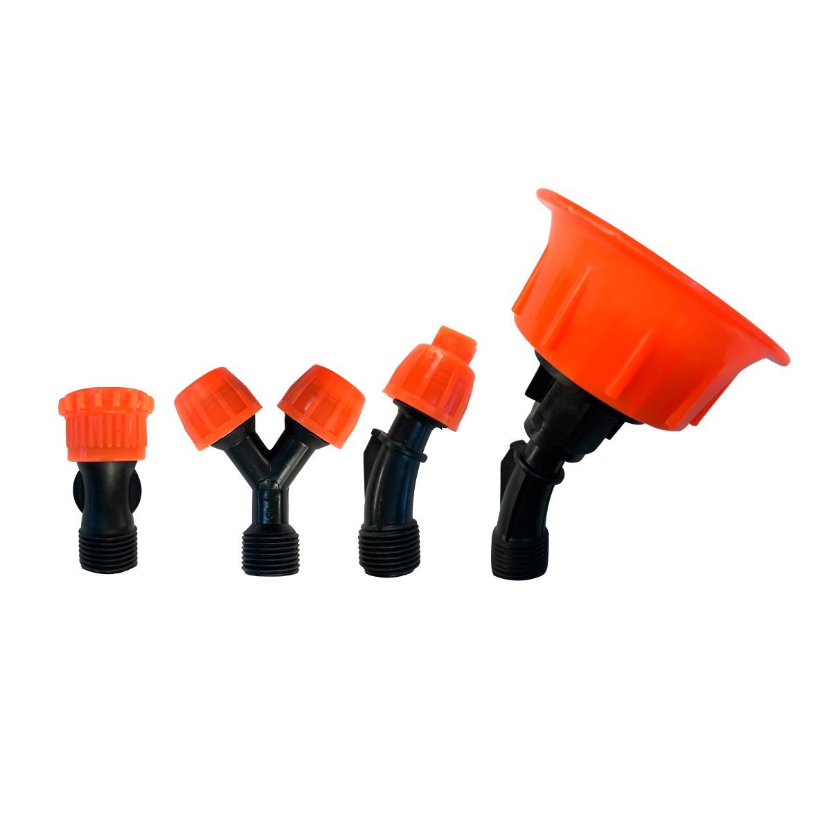 Kit de Bicos (leque, cônico em Y, chuveiro e chuveirinho) Universal
