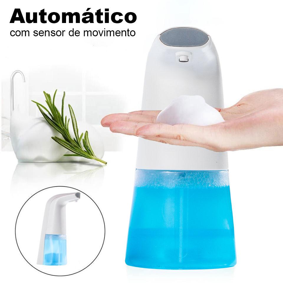 Kit Dispenser Com Sensor Automático + Dux Defender Spray 500ml