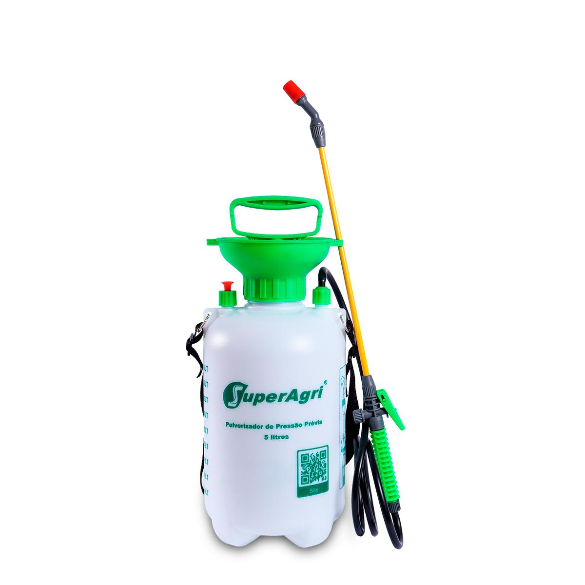 Kit Dux Defender Dul Germ H 5 Litros + Pulverizador Pressão Acumulada 5 Litros SuperAgri SAPPA5L