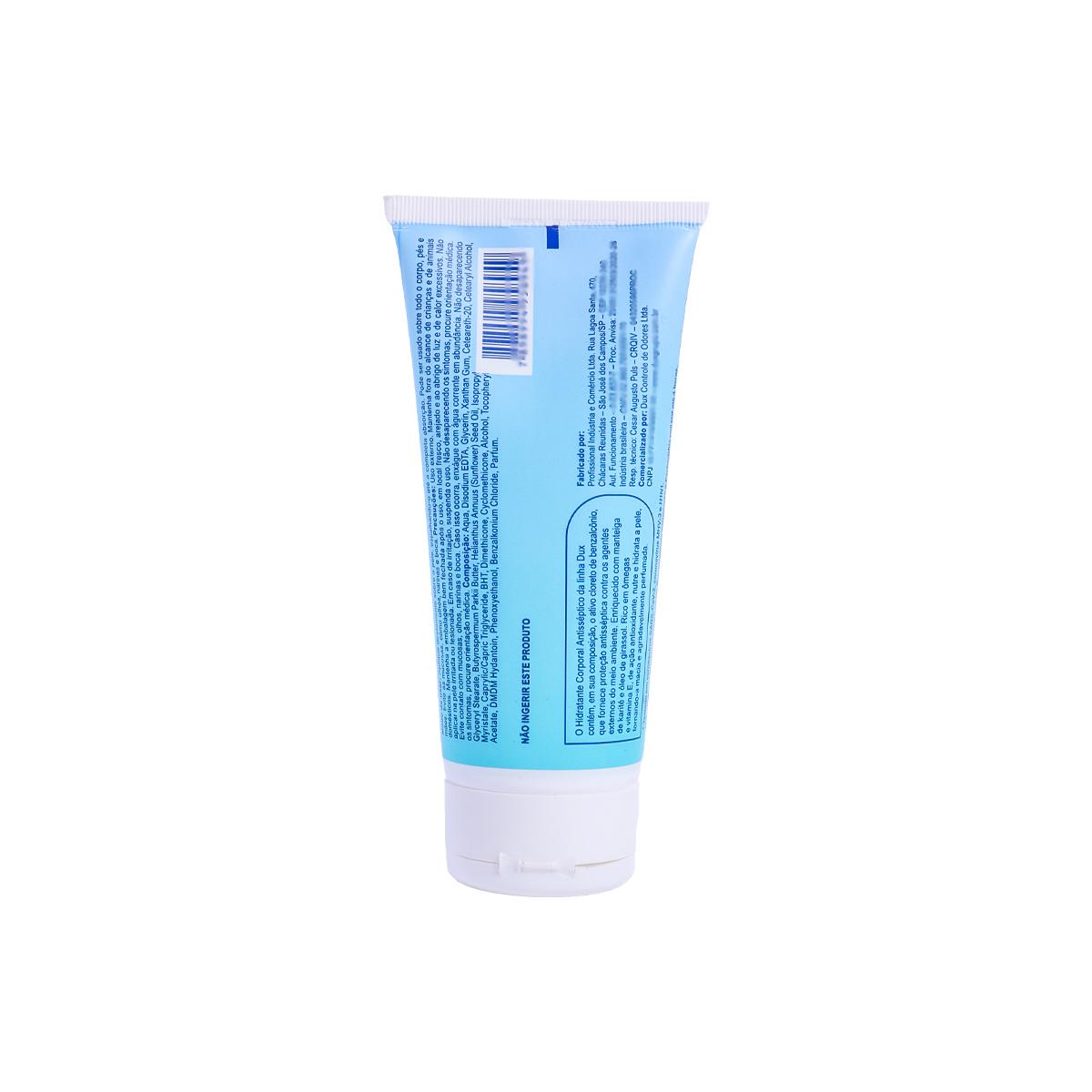 Kit Dux Defender Spray 500ml + Dux Defender Hidratante Antisseptico 200g + Dux Defender Hidratante Antisseptico 60g