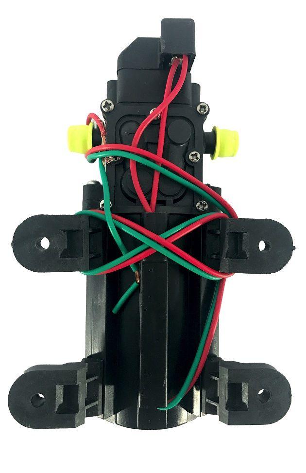 Kit Motor Bomba Diafragma 80 Psi e Fonte De Alimentação Bivolt