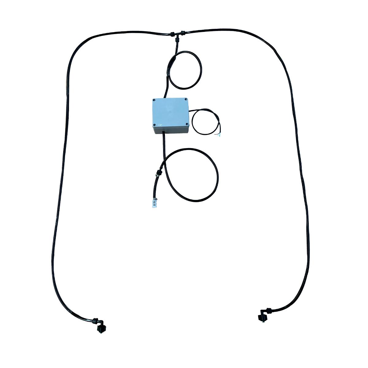 Kit Para Aplicação De Inoculante 2 Bicos Sem Reservatório