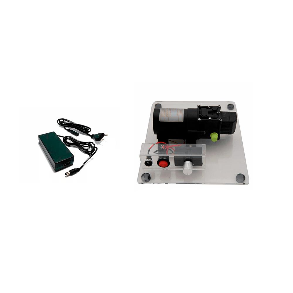 Kit Pulverizador 80 Psi Com Suporte e Fonte Bivolt