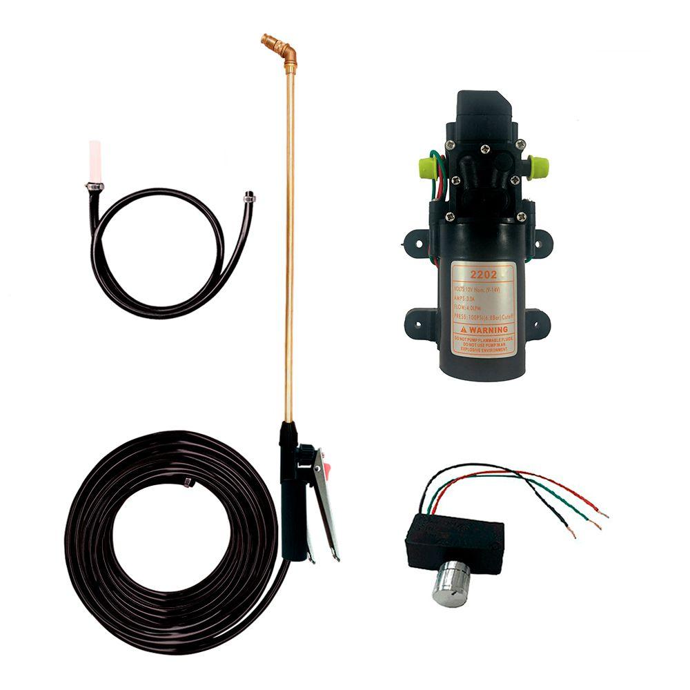 Kit Pulverizador Bomba 100 PSI Para Trator
