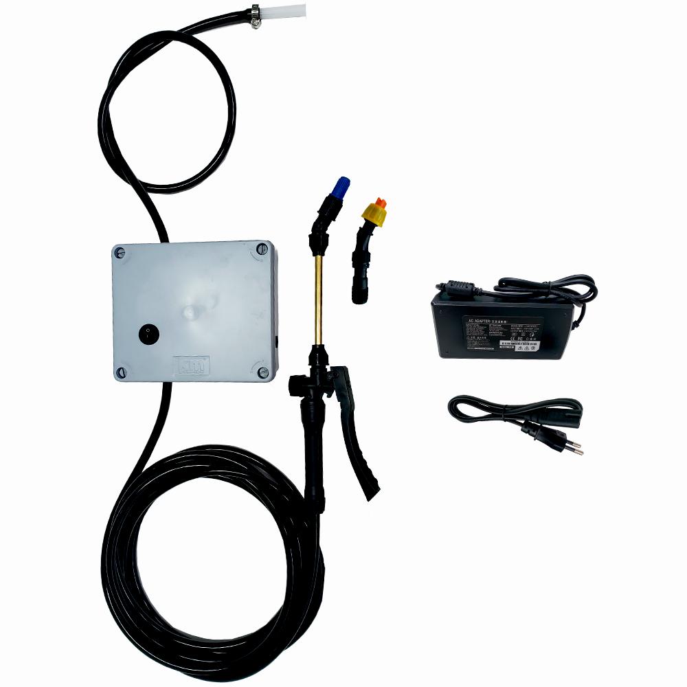Kit Pulverizador Estacionário 80PSI com Caixa Steck