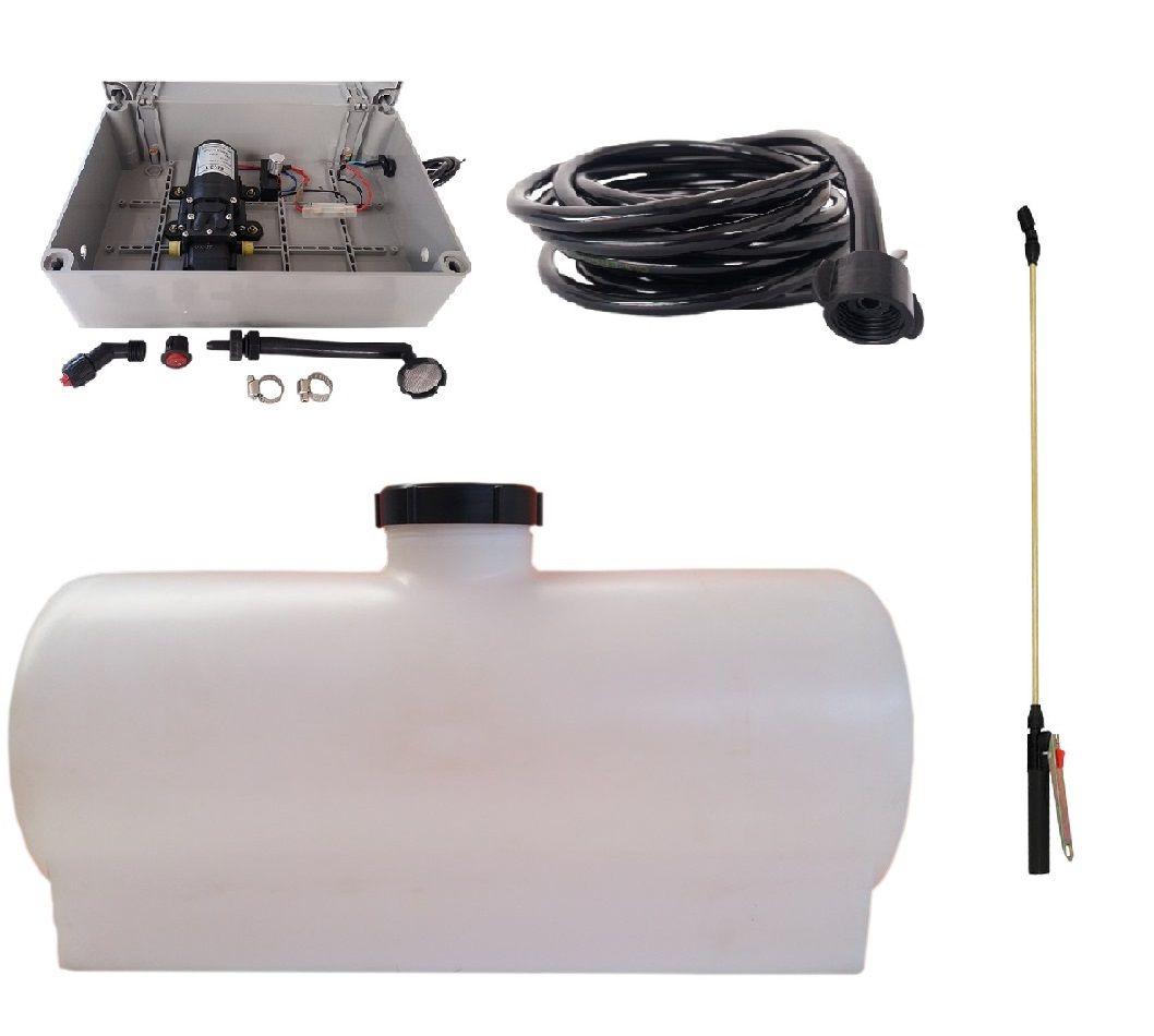 Kit Pulverizador Tanque 100 Litros