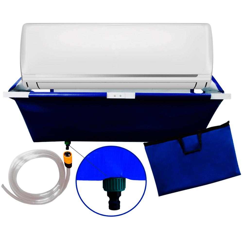 Lavadora Costal Para Limpeza Ar Condicionado Split 18 Litros + Cinto Para Produtos de Limpeza