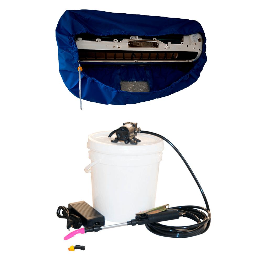 Lavadora Elétrica 12L 80PSI + Bolsa Coletora até 36000 BTUS