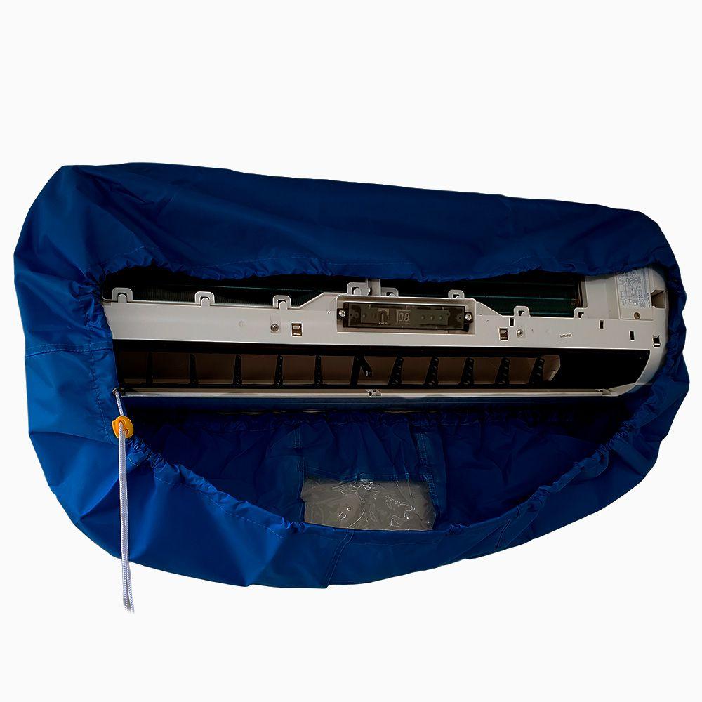 Lavadora Elétrica 18L 100 PSI Caixa Proteção + Bolsa Coletora Até 36000 BTUS + Balde de Plástico 18L