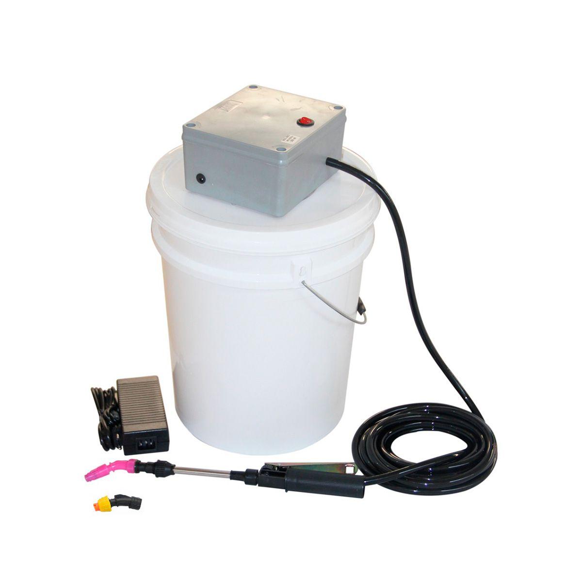 Lavadora Elétrica 18L 100PSI Carrinho + Bolsa Coletora até 12000 BTUS