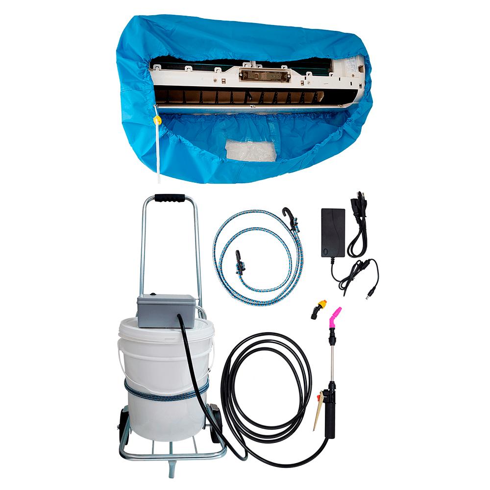 Lavadora Elétrica 18L 100PSI Carrinho + Bolsa Coletora até 18000 BTUS