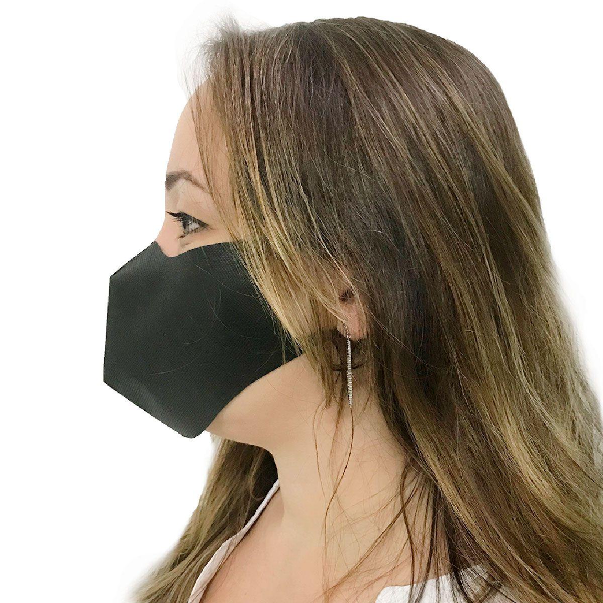 Máscara Descartável em TNT 40 Unidades Tamanho G