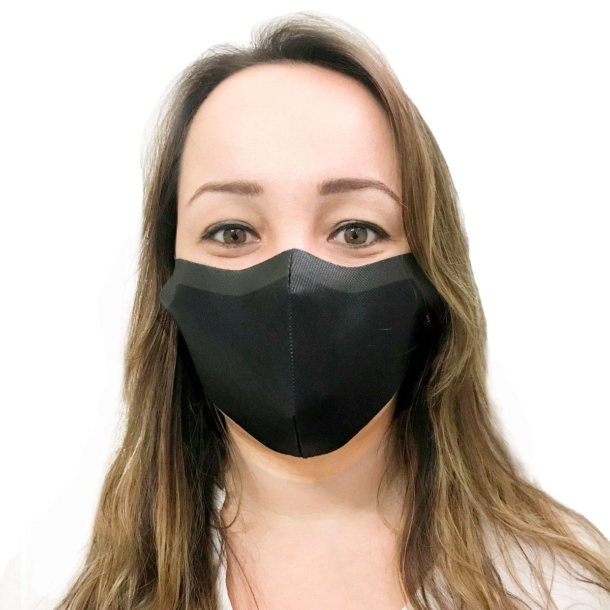 Máscara Descartável em TNT 80 Unidades Tamanho G