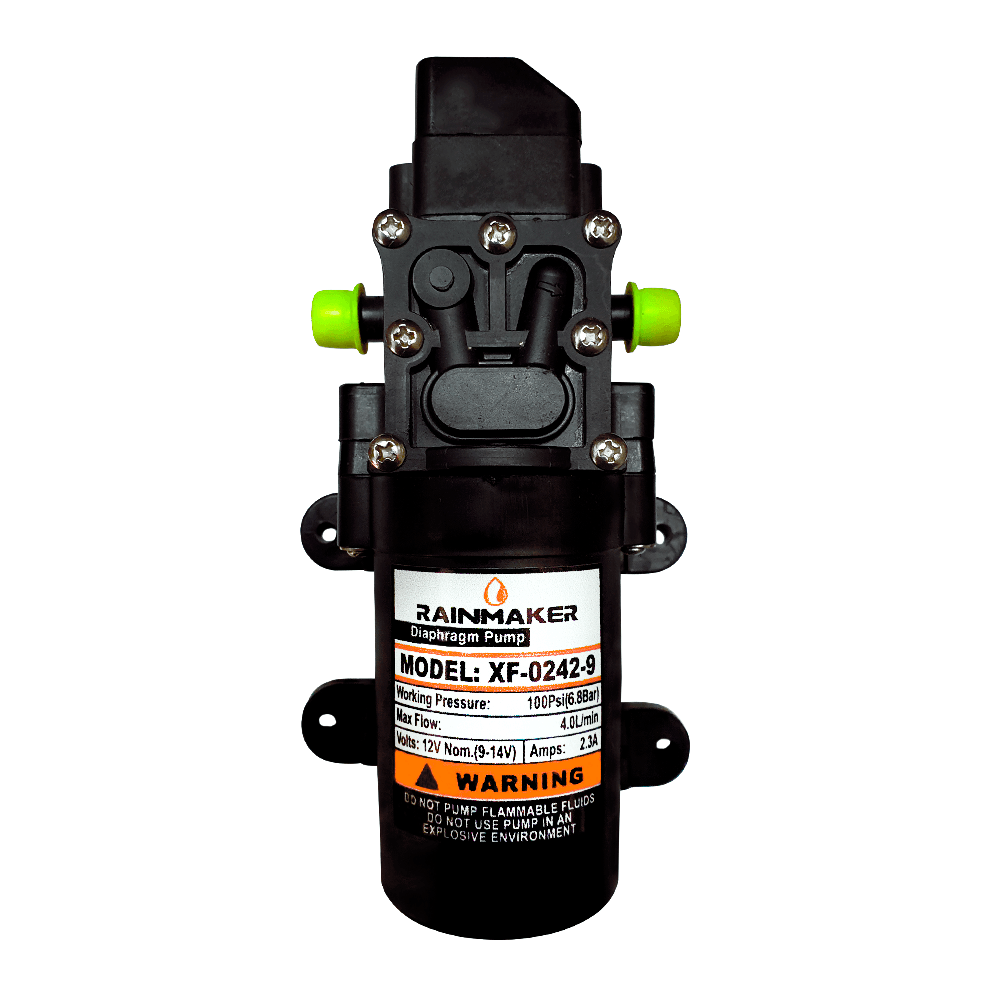 Motor Bomba Diafragma 12V 100 PSI Rainmaker