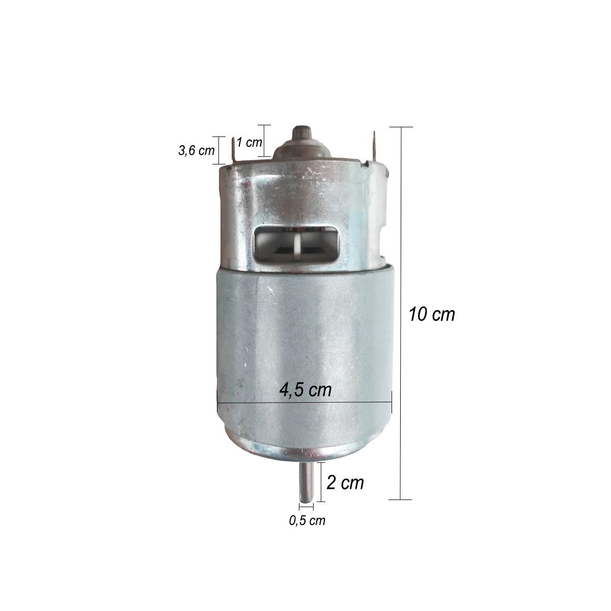 Motor Elétrico 12V Para Bomba Diafragma