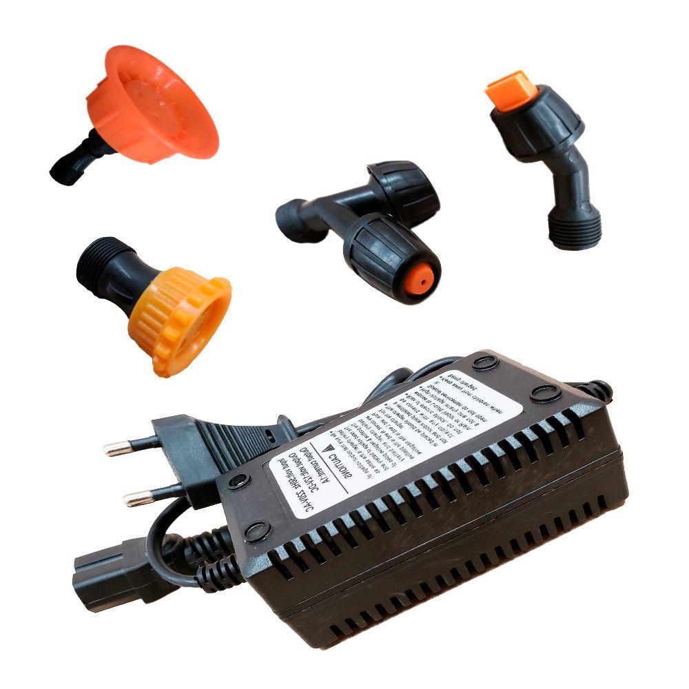 Pulverizador Costal Elétrico 20 Litros 2 em 1 100 PSI Bateria 12V 12Ah