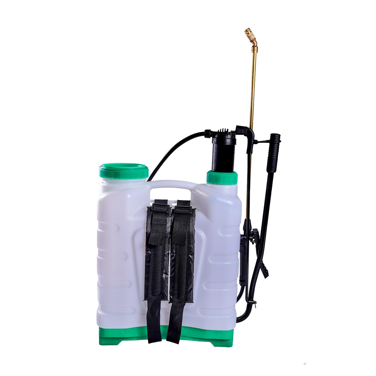 Pulverizador Costal Manual 20 Litros SuperAgri  +  Coador + Lança De Metal + Alavanca + Conector + CIlindro Completo