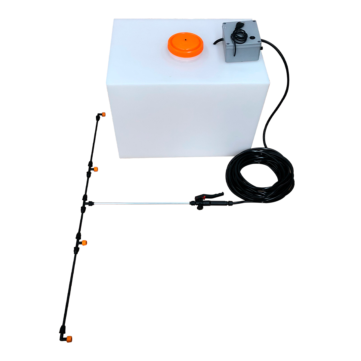 Pulverizador Elétrico 150 Litros Fonte Bivolt SuperAgri SAPE150LBI