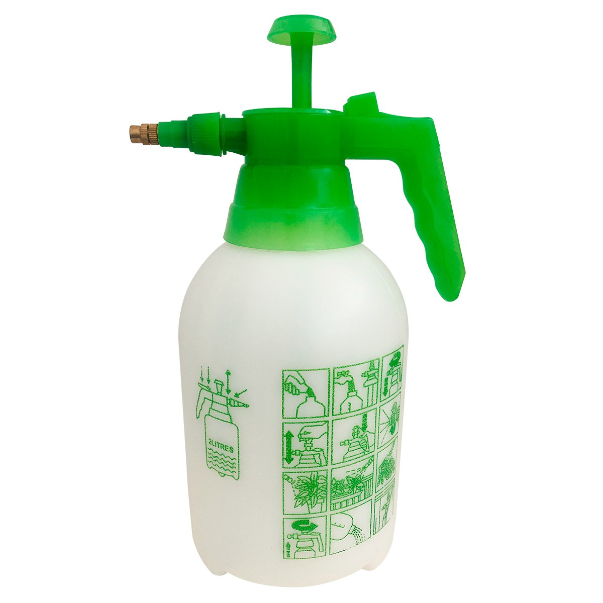 Pulverizador Pressão Acumulada 2 litros SAPPA2L SuperAgri