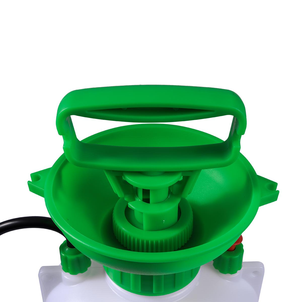 Pulverizador Pressão Acumulada 5 Litros SuperAgri + Pulverizador Borrifador Manual Pressão Acumulada 1,5 Litros