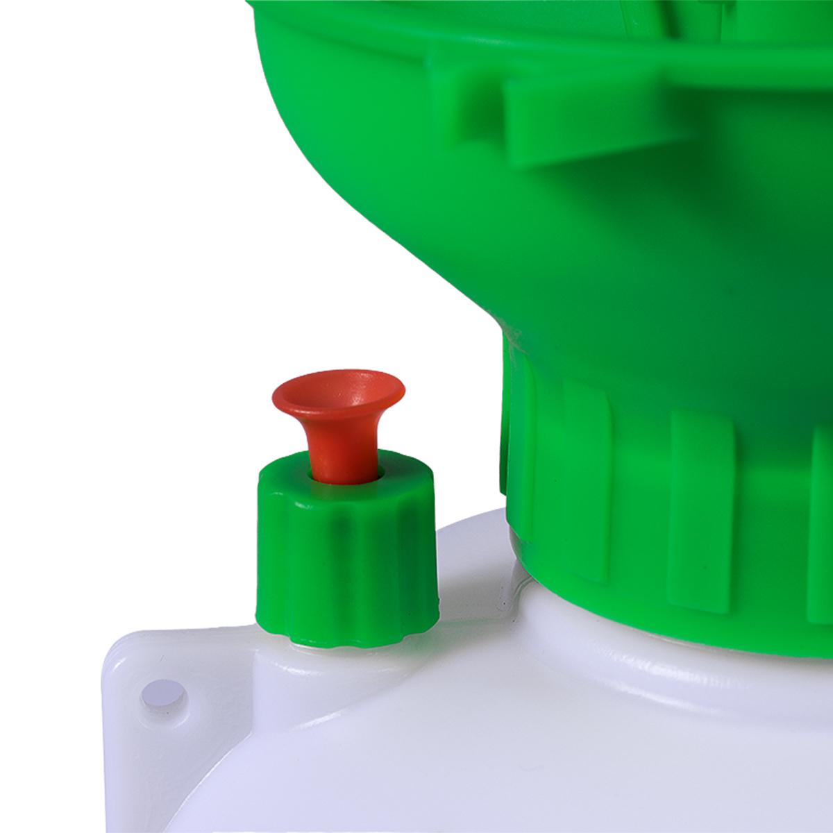 Pulverizador Pressão Acumulada 5 Litros SuperAgri + Pulverizador Borrifador Manual Pressão Acumulada 2 Litros