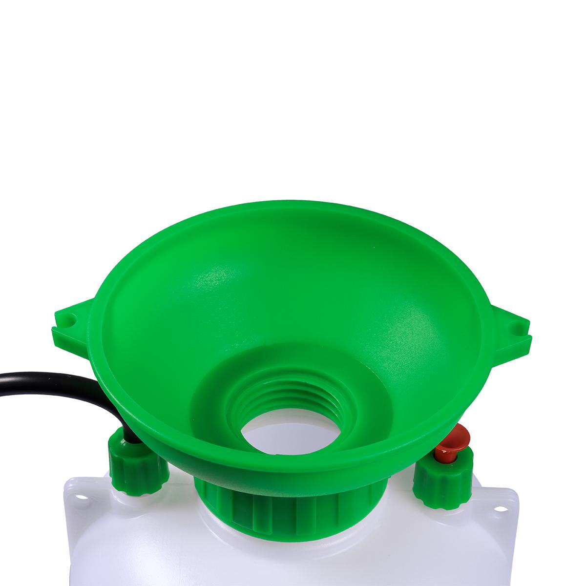 Pulverizador Pressão Acumulada 8 Litros SuperAgri + Pulverizador Borrifador Manual Pressão Acumulada 1,5 Litros