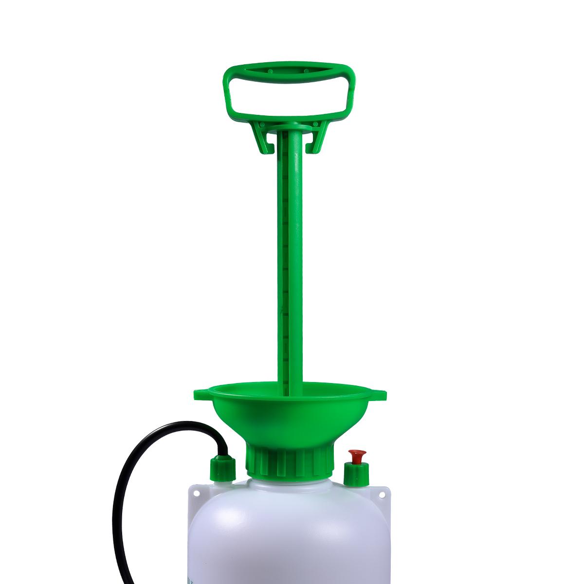 Pulverizador Pressão Acumulada 8 Litros SuperAgri SAPPA8L + Pulverizador Borrifador Manual Pressão Acumulada 2 Litros