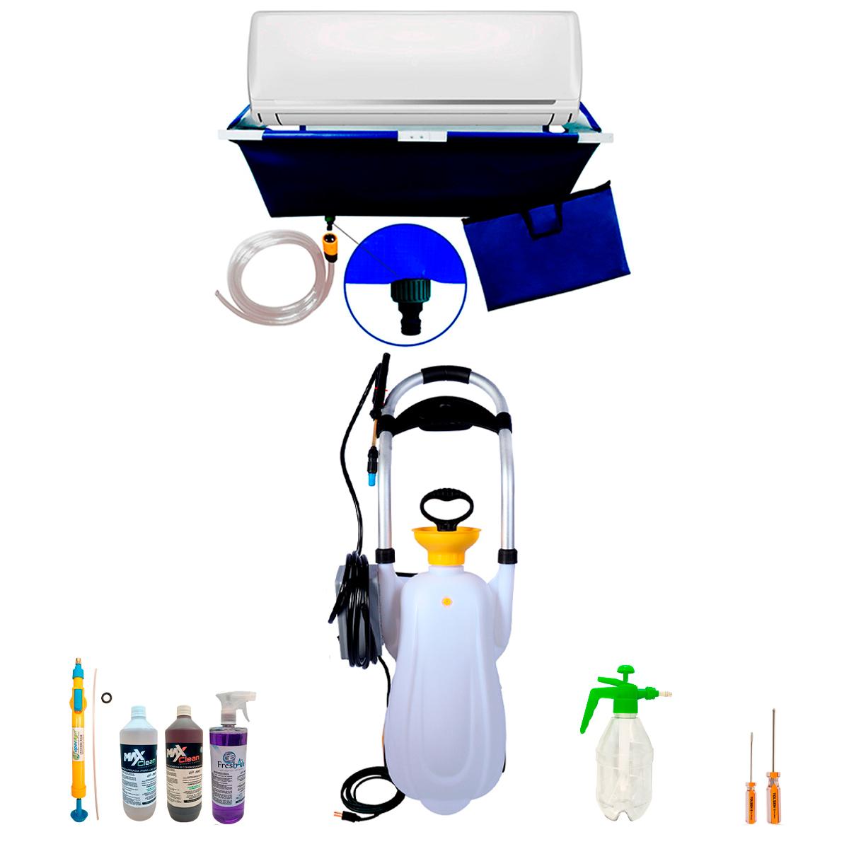 Super Lavadora + Bolsa Coletora 24 mil BTUS + Produtos de Limpeza