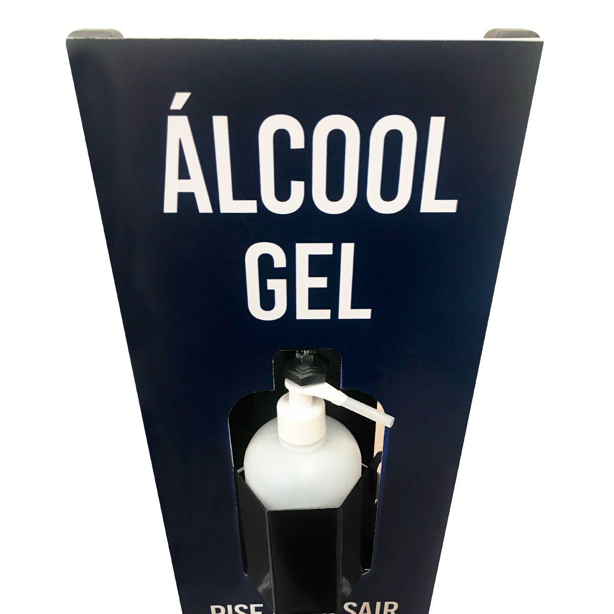 Suporte Display Para Álcool Gel 1200H - 200ml