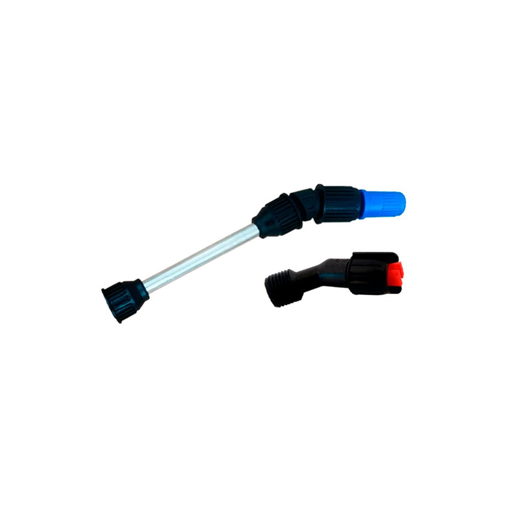 Tubo da Lança 13 cm + Bico Regulável + Bico Leque