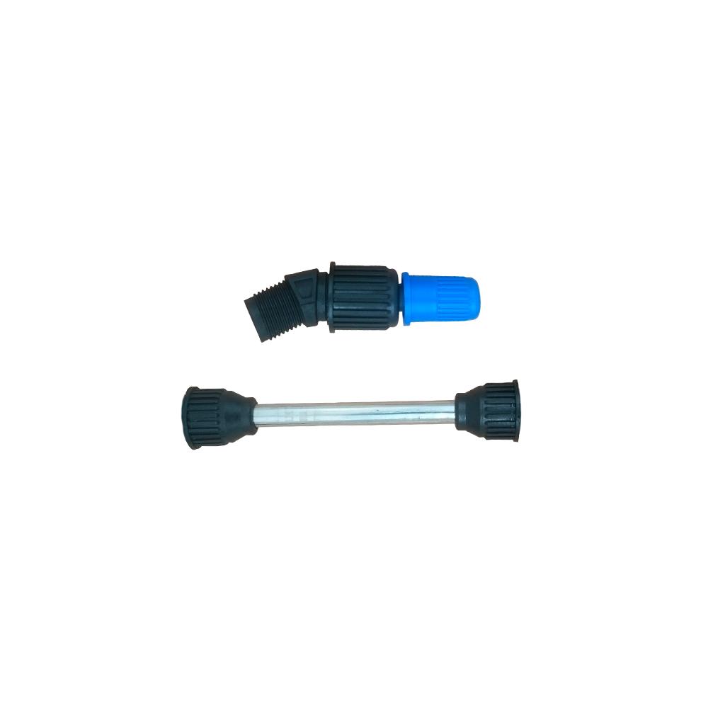 Tubo da Lança 15 cm + Bico Cônico Regulável Azul