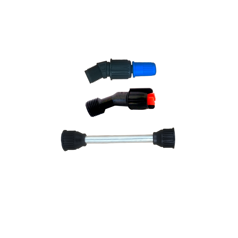 Tubo da Lança 15 cm + Bico Regulável + Bico Leque