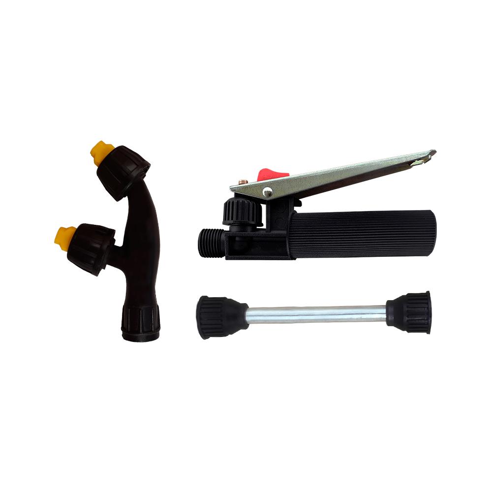 Gatilho Completo + Tubo da Lança 15 cm + Bico Duplo Leque