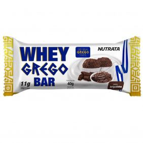 Barra Whey Grego Brigadeiro Nutrata 40gr