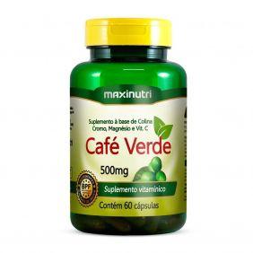 Café Verde (Colina/Cromo/Mag/Vit.C) 60 cápsulas Maxinutri