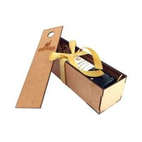 Caixa personalizada em MDF para uma Garrafa de Vinho