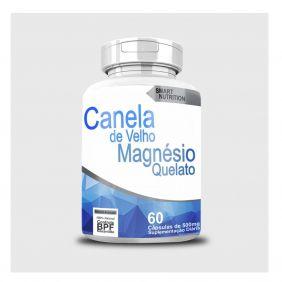 Canela de Velho com Magnésio Quelato 500mg 60 cápsulas 4 Elementos