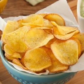 Chips de Mandioca (Aipim) sabor Bacon
