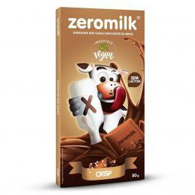 Chocolate Zero Leite Crisp Zeromilk 80gr
