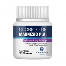 Cloreto de Magnesio P.A. em Pó 33gr - Catarinense